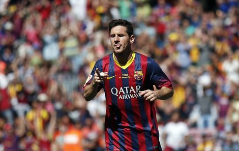 contract messi
