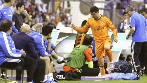 ronaldo blessure