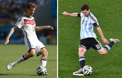 duitsland - argentinie