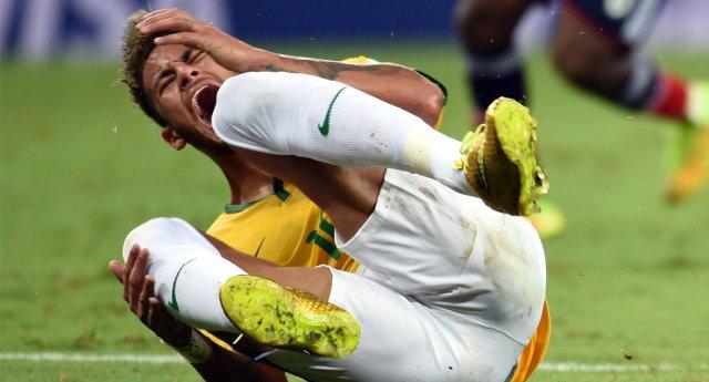 huilende neymar