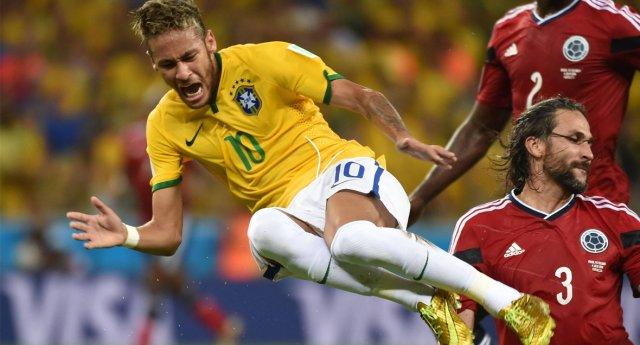neymar treurt