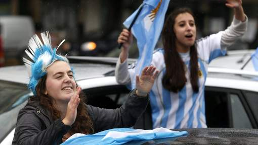 supporters argentinie