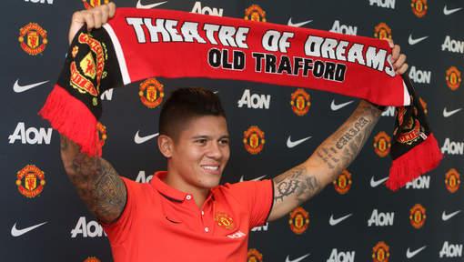 rojo manchester united