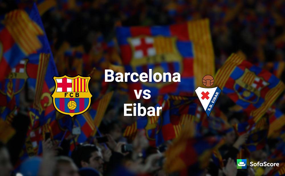 اهداف مباراة برشلونة ضد ايبار