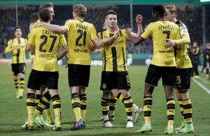 Dortmund maakt einde aan sprookje Sportfreunde Lotte