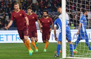 Dzeko tweemaal trefzeker voor AS Roma