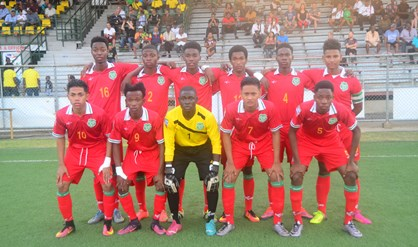U-17 voetbalselectie naar Panama