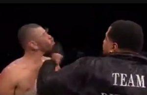 Bizar einde van bokspartij in Washington