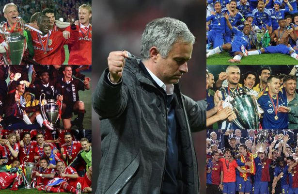 Mourinho and the club of six which Real Madrid aren't a part of