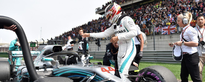 Wolff: \'Mercedes en Hamilton niet op hun best in China\' | QN Sport+ ...