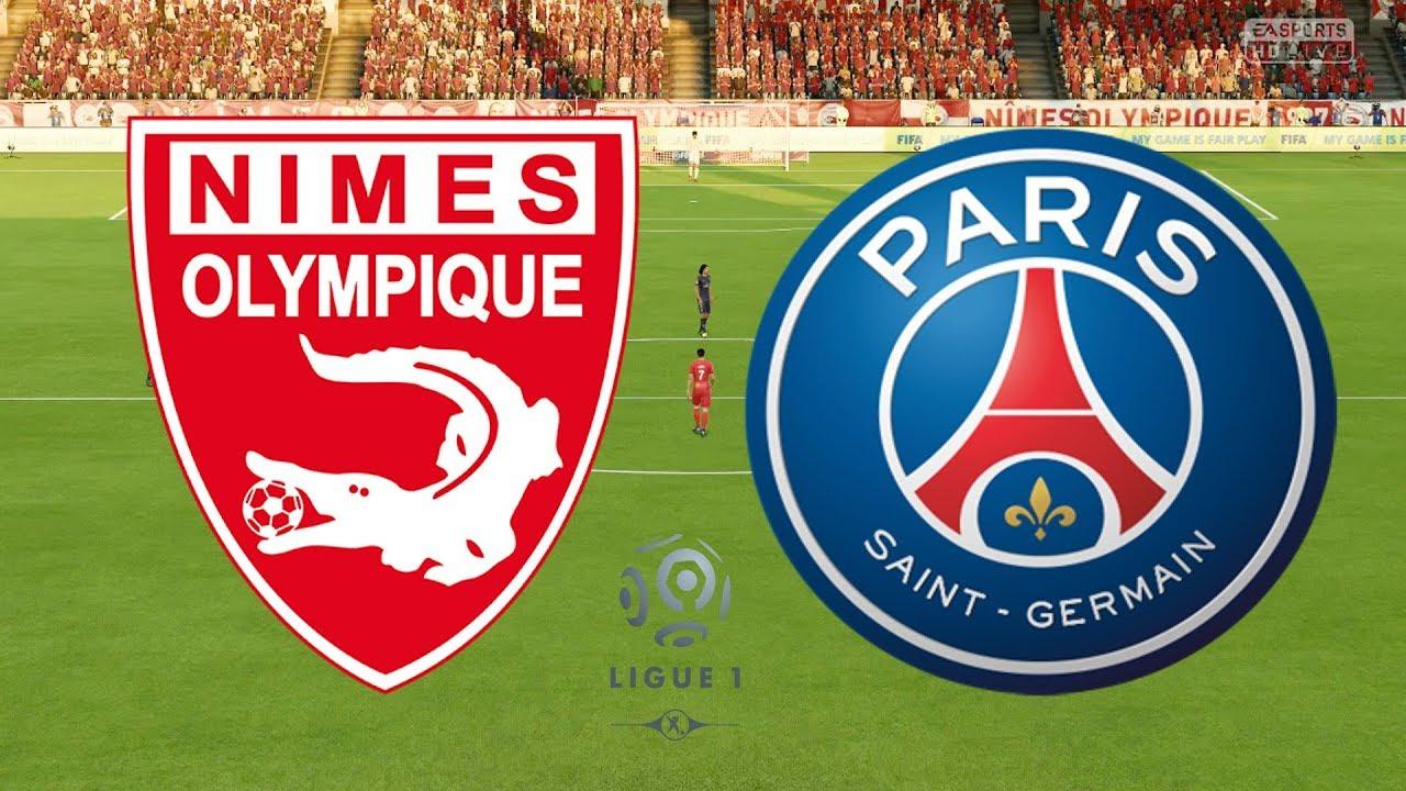 Resultado de imagen para Paris Saint-Germain vs Nimes